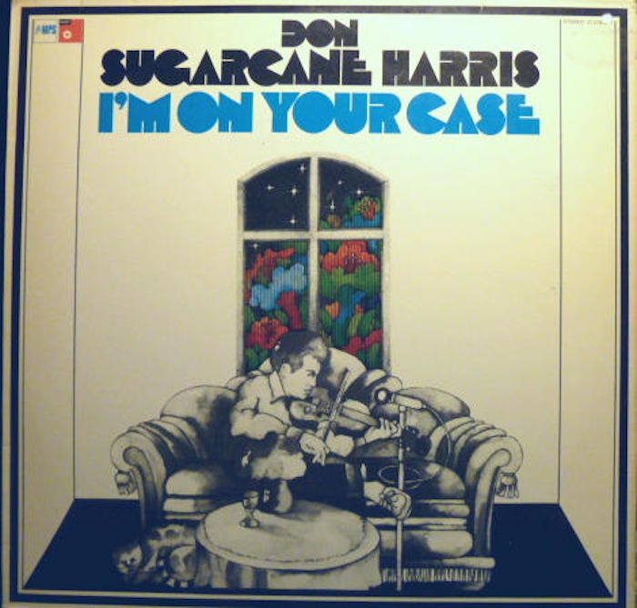 HARRIS, DON SUGARCANE - I'm on Your Case - LP