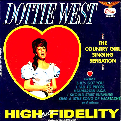 The Country Girl Singing Sensation - West, Dottie
