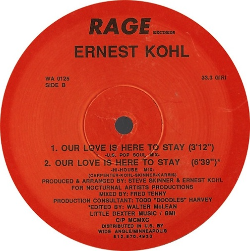 Ernest Kohl - Save The Best For Last