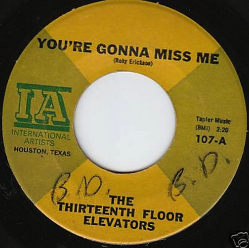 13th floor elevators records lps vinyl and cds musicstack for 13th floor elevators thru the rhythm