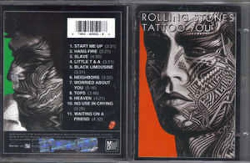 Rolling Stones Tattoo You Records Lps Vinyl And Cds