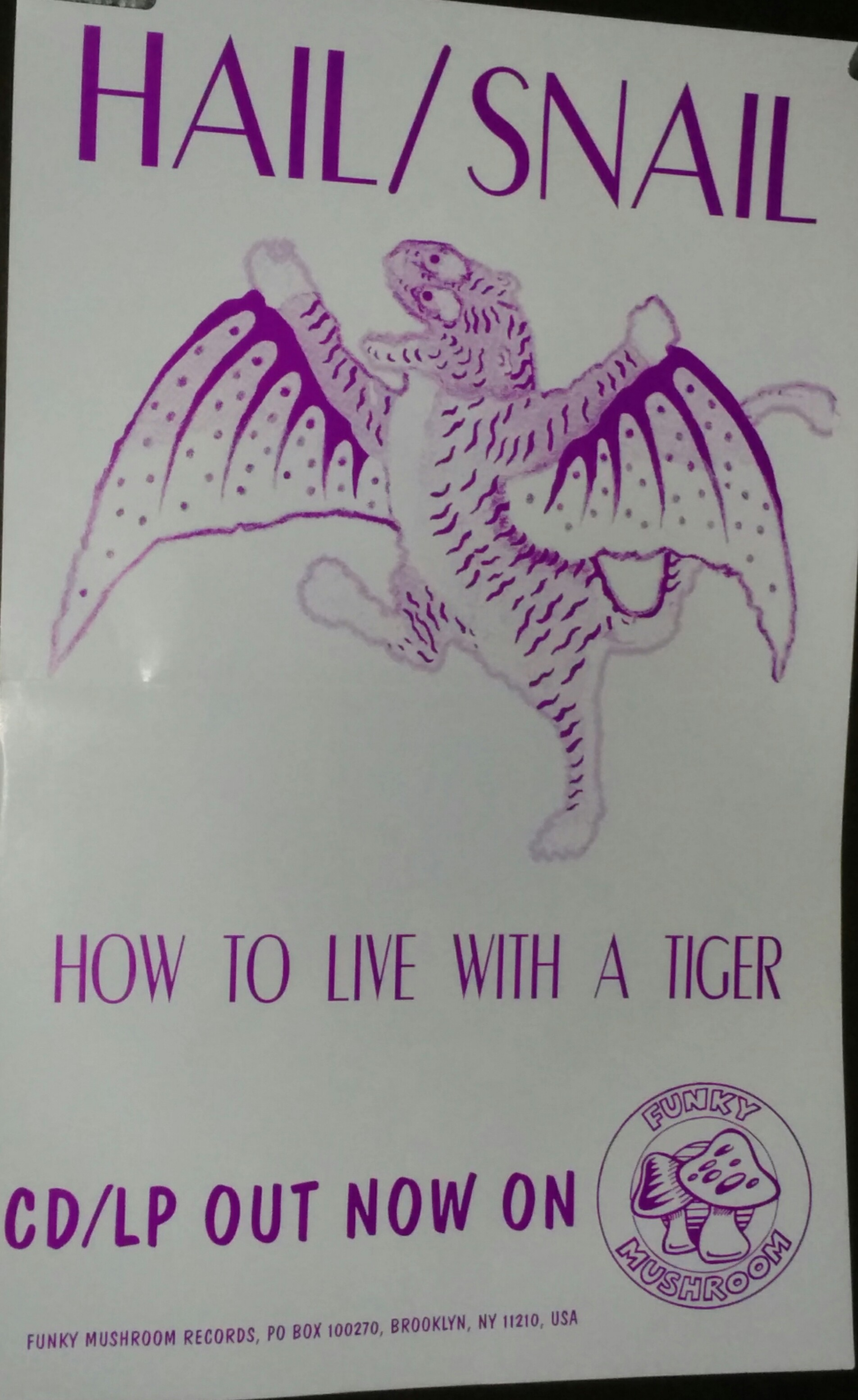 Hail / Azalia Snail* Snail - How To Live With A Tiger