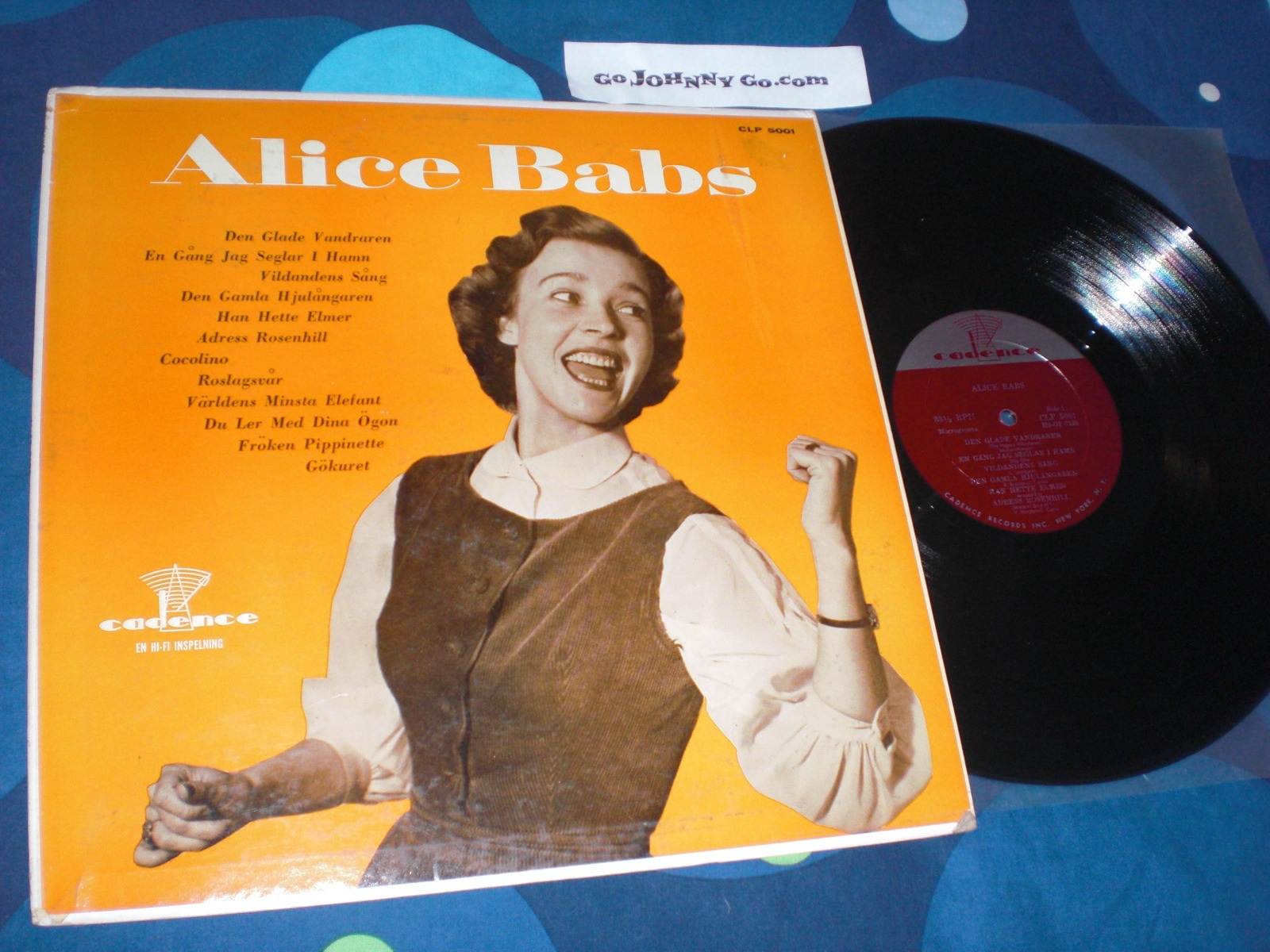 Babs,Alice Alice+Babs LP