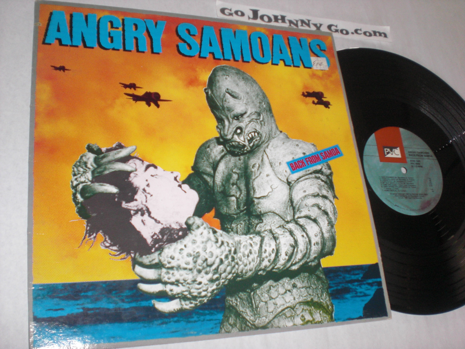 ANGRY SAMOANS - Back from Samoa - 33T