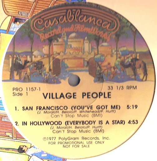 Village People - San Francisco (you've Got Me + 2)