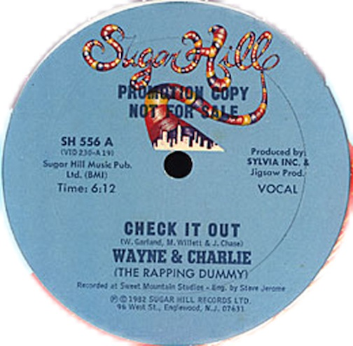 WAYNE & CHARLIE - Check It Out x 2 - 12 inch x 1