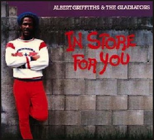 GRIFFITHS, ALBERT & THE GLADIATORS - In Store for You - LP