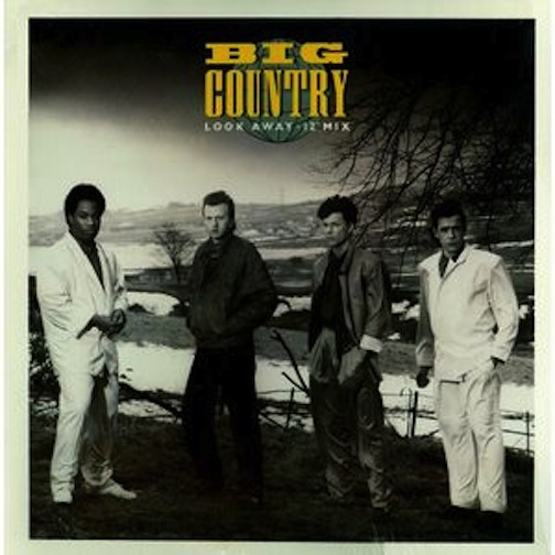 big country look away b/w restless natives (long)